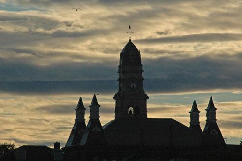City Hall Sunset