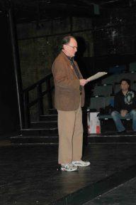 John Ronan, Gloucester's Poet Laureate, reads his tribute poem