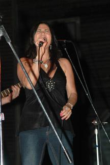 Paula singing the blues!