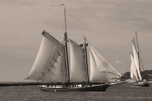 sepia-schooner