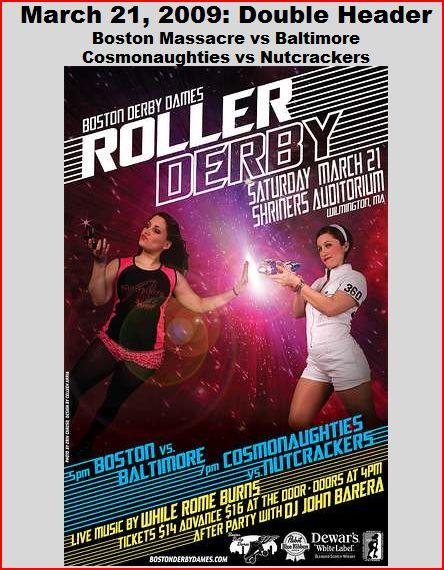 Boston Derby Dames Double Header