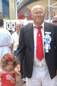 Santo Militello and grandaughter Marissa