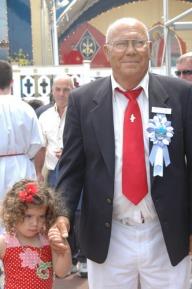 Santo Militello and grandaughter Marissa