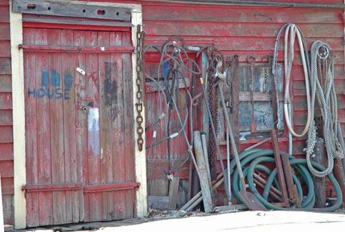 door-shack