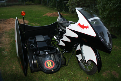 Get your picture taken on the BatCycle!