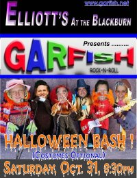 Garfish Halloween