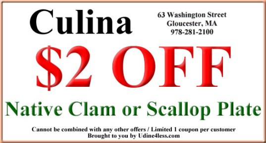 Culina Coupon