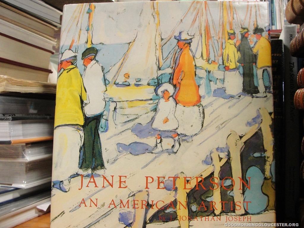 on artist jane peterson