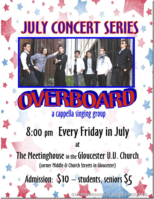 Overboard Flyer