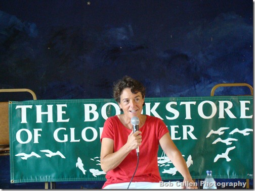 Linda Greenlaw at her book reading