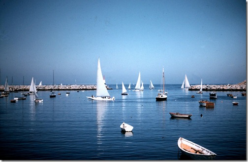 Rockport Harbor '55