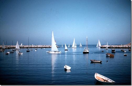 Rockport Harbor '55