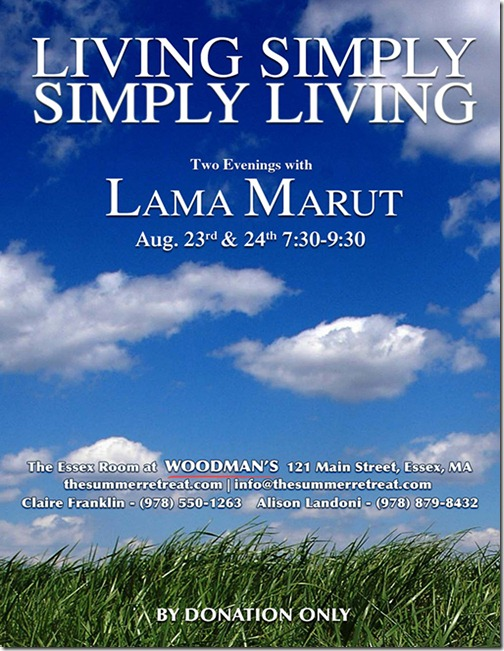 Living Simply Flyer