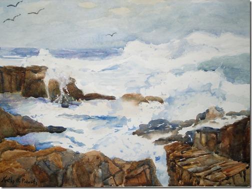 ocean painting 3.20.09