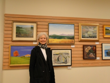 Artist Ruth Mordecai on Gallery watch opening day