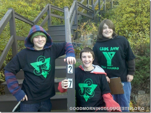 Triad-YMCA volunteers
