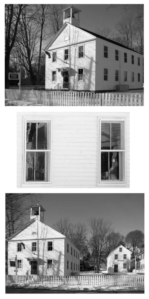 photo collage of Annisquam Exchange / Leonard School and Annisquam Historical Society