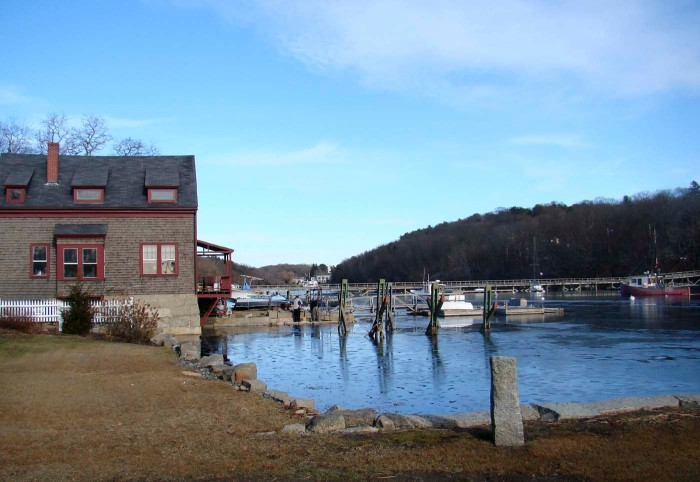 location of Alpheus Hyatt's Seaside Laboratory in Annisquam