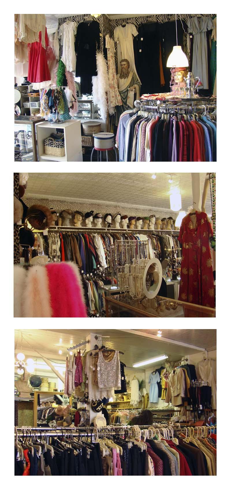Bananas vintage thrift shop, main street, Gloucester