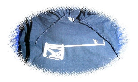 blue schoodie