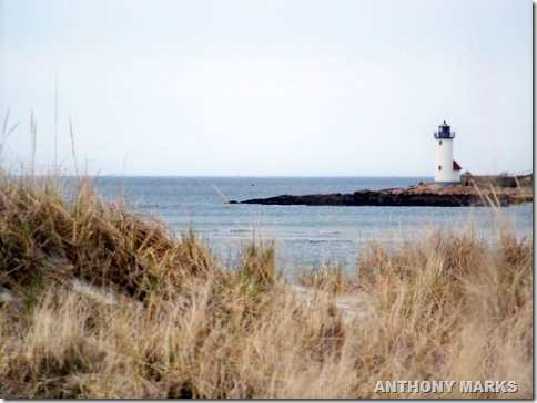 Annisquam light from Wingaresheek beach