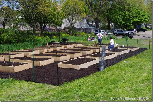 Burnham's Field garden - After