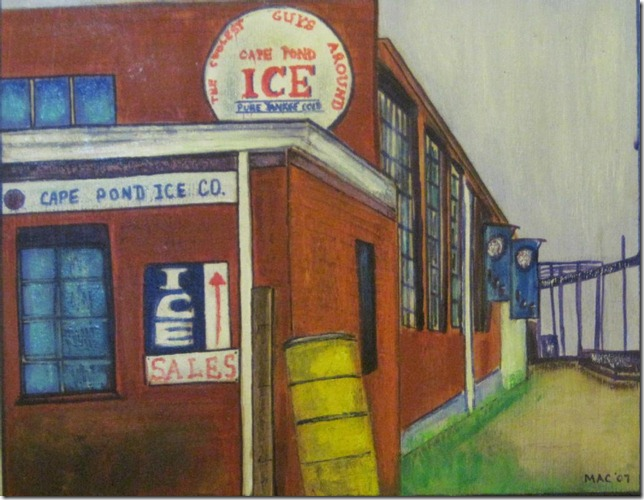 Cape Pond Ice by Marci Ann Cohen, 2007