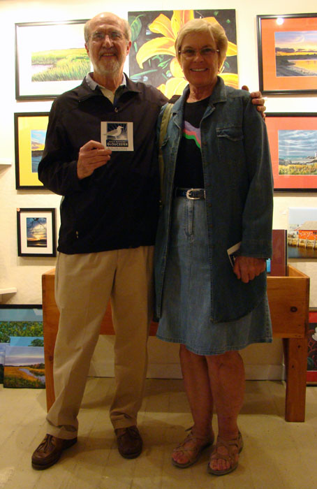 Jim and Rosemary Banks Represent at Khan Studio and the Good Morning Gloucester Gallery on historic Rocky Neck