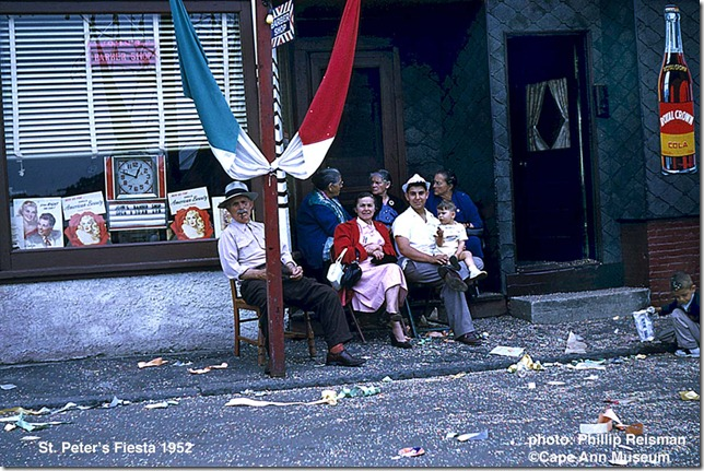 gloucester fiesta 7/52[john's barbershop at 10 minutes to one.  giovanni eremito, 29 commercial st.]