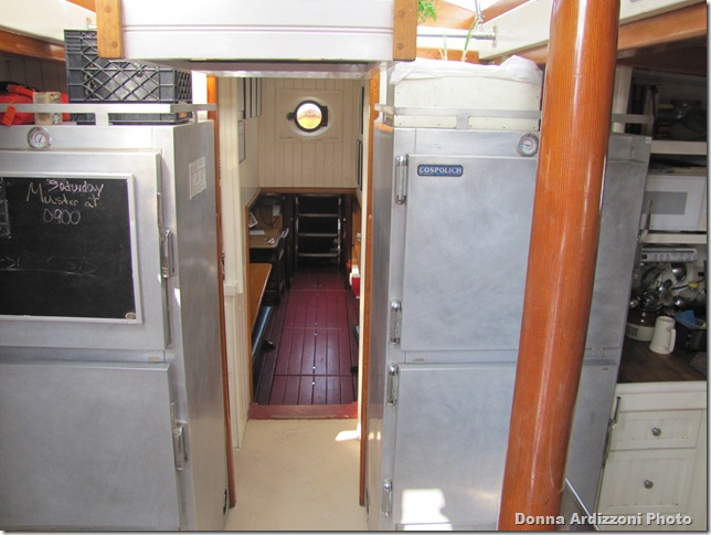 Galley on the Roseway