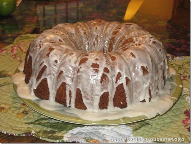Grandma Felicia's Cake closeup