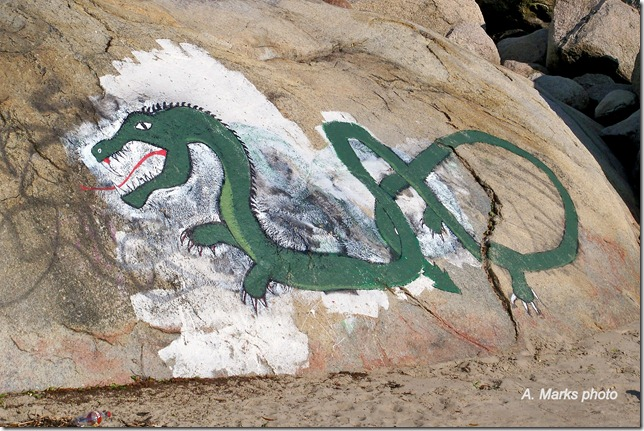 Sea Serpent at Cressy beach