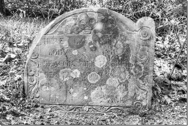 2nd Parish headstone