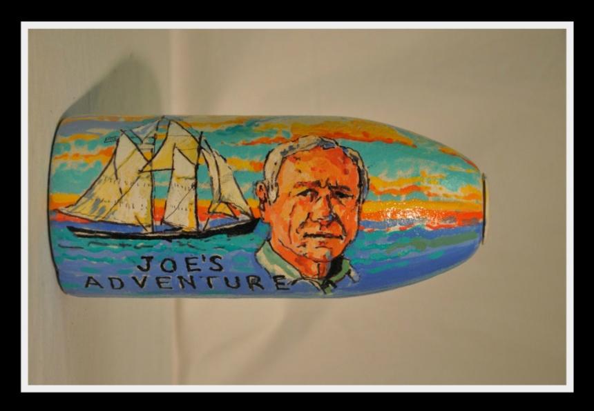 Bruce Herman buoy honoring Joe Garland