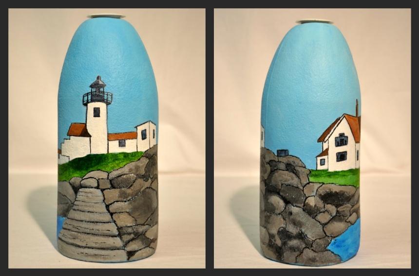 Lighthouse buoy by Ejay Kahn