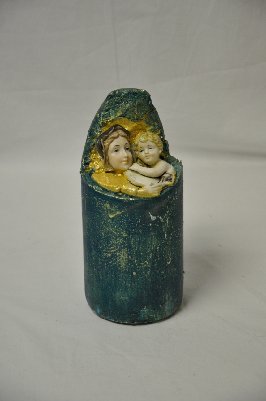 Madonna and Child buoy by Debbie Clarke