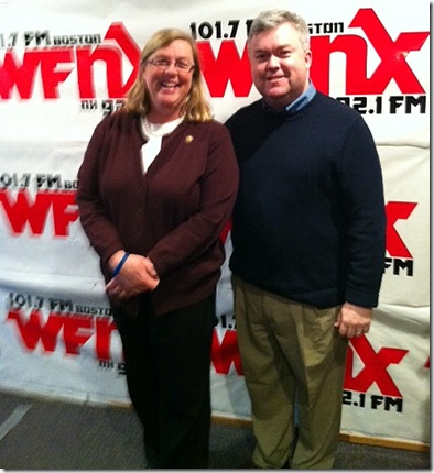 Mayor Kirk with Mayor Dolan