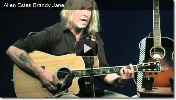 Allen Estes sings Brandy Jane