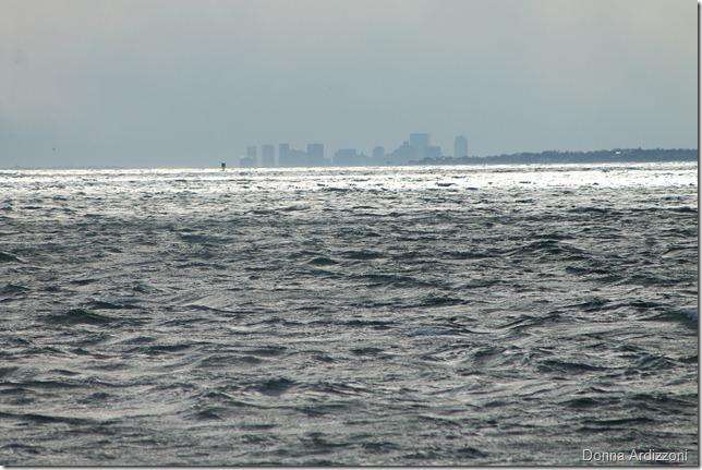 February 25, 2012 Boston Skyline from Niles Beach