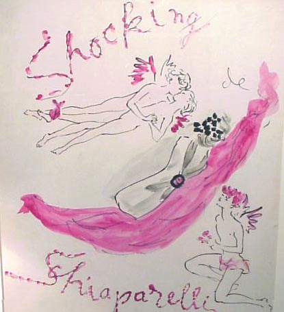 marcel vertes shocking perfume schiaparelli 1 Color: In the Pink