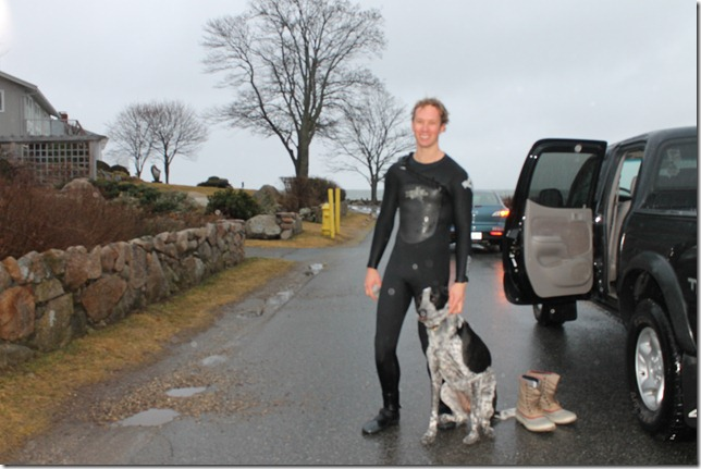 march 1, 2012 abc Simon and his dog Hazel