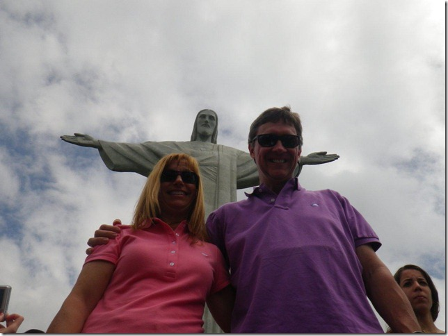 3b John and Denise in Rio de Janeiro March 20th John turns 50