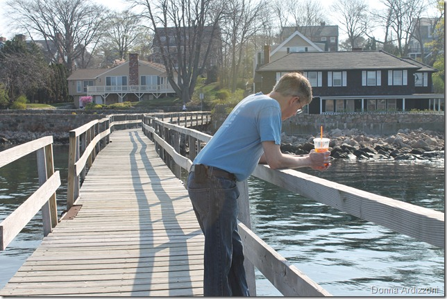 April 16, 2012 my birthday boy on the pier