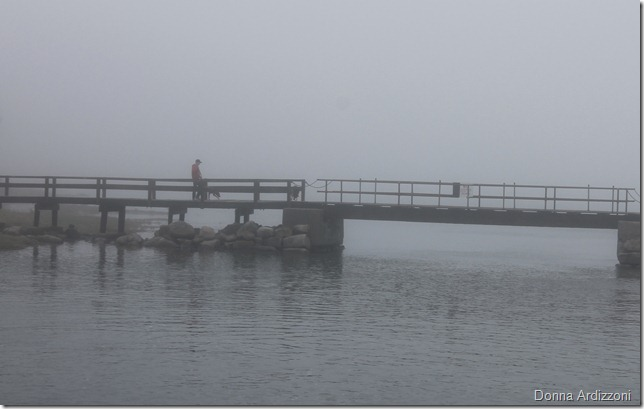April 23, 2012 fog on Good Harbor Beach