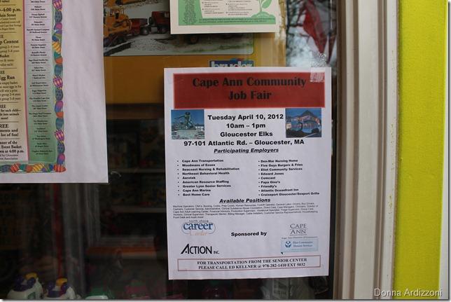 April 7, 2012 Job Fair