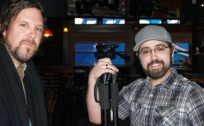 Brad Byrd with Brandon Rose at Minglewood