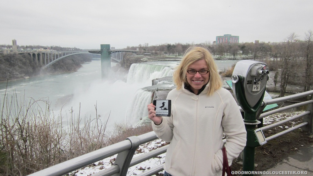 Dani Lubbers Represents! At Niagra Falls | GoodMorningGloucester