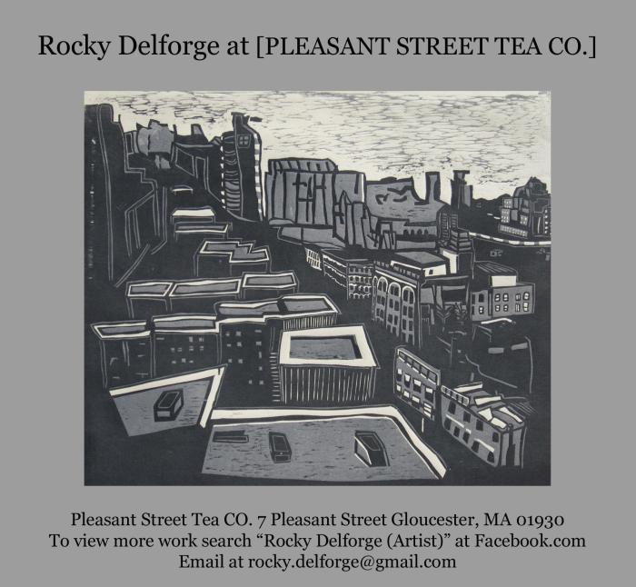 Rocky Delforge at Pleasant St. Tea Co.