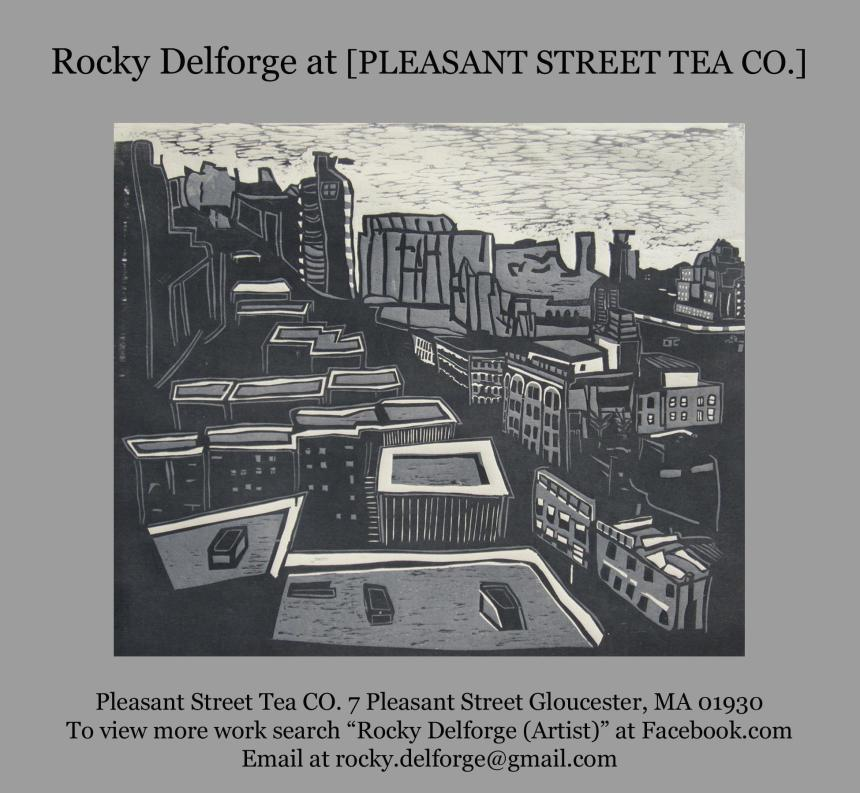 Rocky Delforge at Pleasant St. Tea Co.
