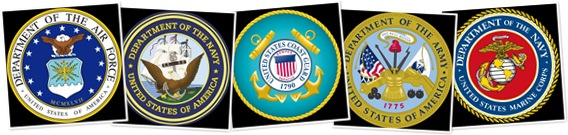 View US Military Seals